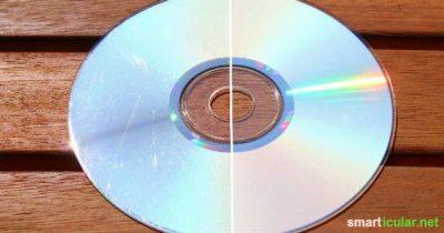 Kratzer von CDs, DVDs und BlueRays entfernen