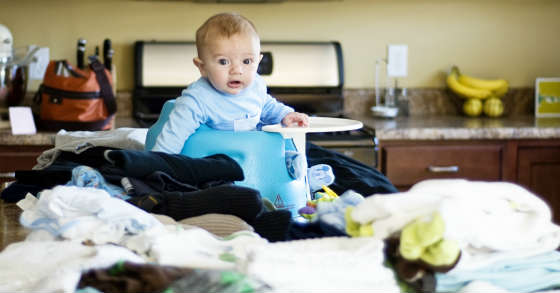 7 überraschend Einfache Tricks Wäsche Zusammenzulegen
