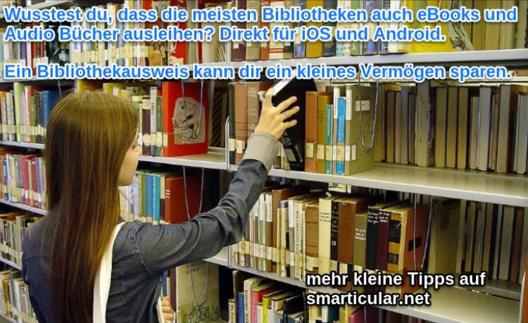 ebooks und Audiobuecher aus Bibliotheken ausleihen