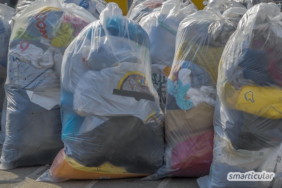 Wohin mit alter Kleidung, damit die Spende einem guten Zweck dient? Bevor du sie in den Altkleidercontainer gibst, lies hier, worauf es bei der Kleiderspende ankommt.