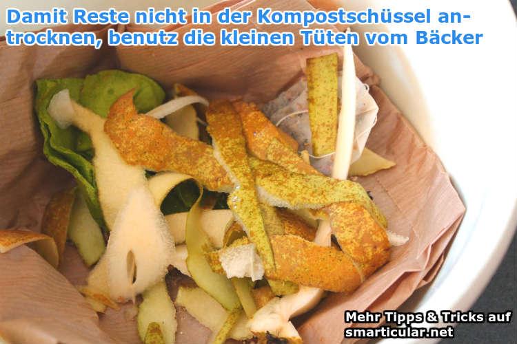 kompostschüssel sauber halten