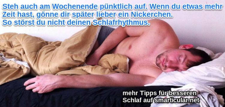 Nickerchen sind besser als unregelmaessiges Ausschlafen