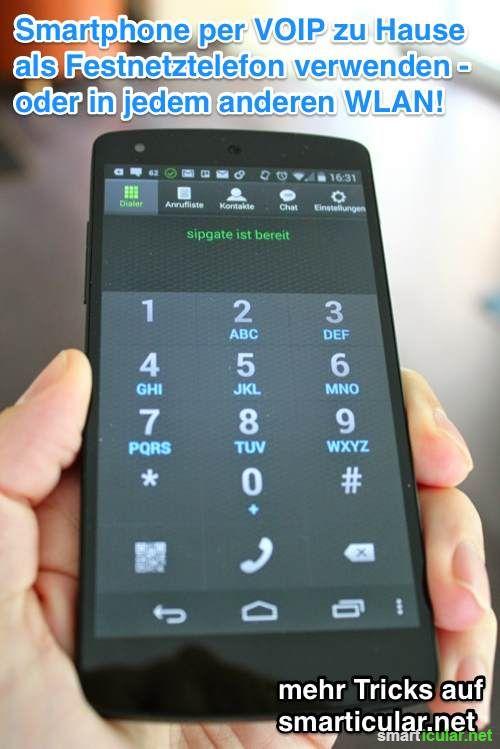 per VOIP überall zum Festnetzpreis telefonieren