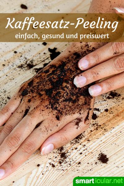 Kaffeesatz ist viel zu schade für die Tonne! So einfach nutzt du ihn gegen Orangenhaut!