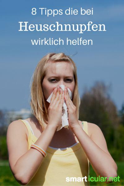Bist du allergisch gegen Pollen? Hier sind wirksame Tricks, wie du deinen Heuschnupfen bekämpfst!