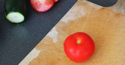 Tomaten effizient schneiden