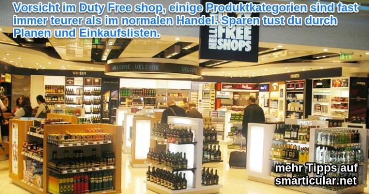 Lohnt sich duty-free shopping