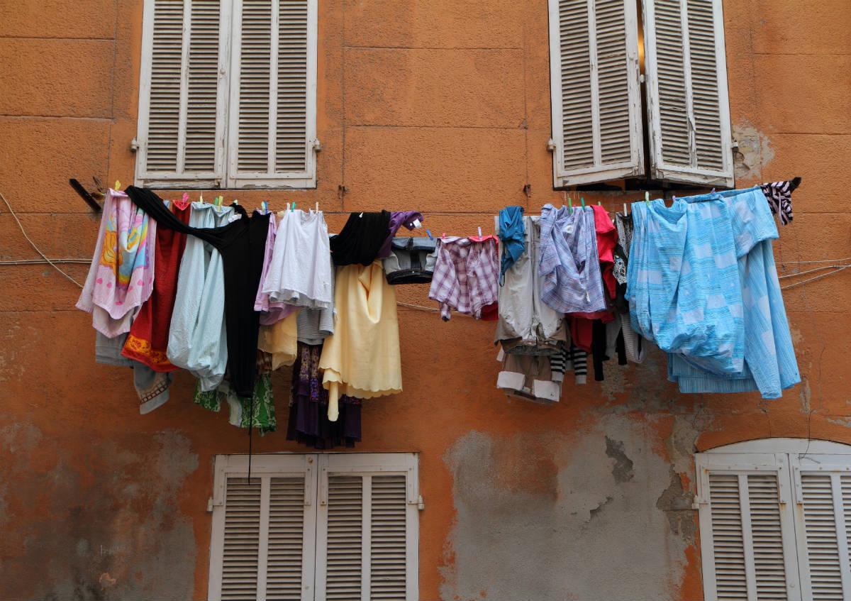 Wäsche schneller und ohne Knickfalte trocknen