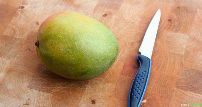 Mit diesen Tricks schneidest du Mangos perfekt