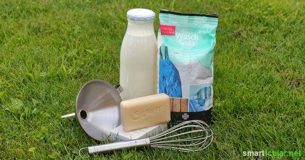 Biowaschmittel selbst herzustellen ist leicht, umweltfreundlich und preiswert