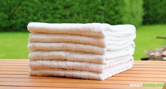 Schönere Handtücher mit der richtigen Falttechnik