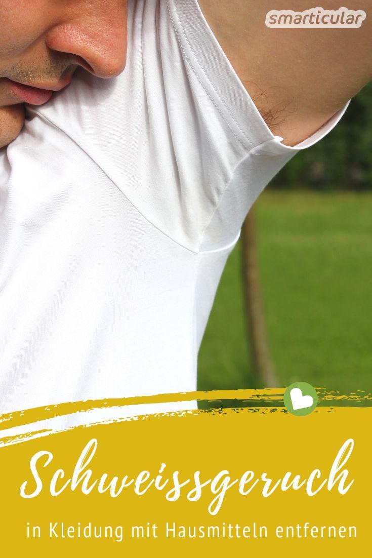 T-Shirts stinken trotz Waschens nach Schweiß? So verhinderst du es!