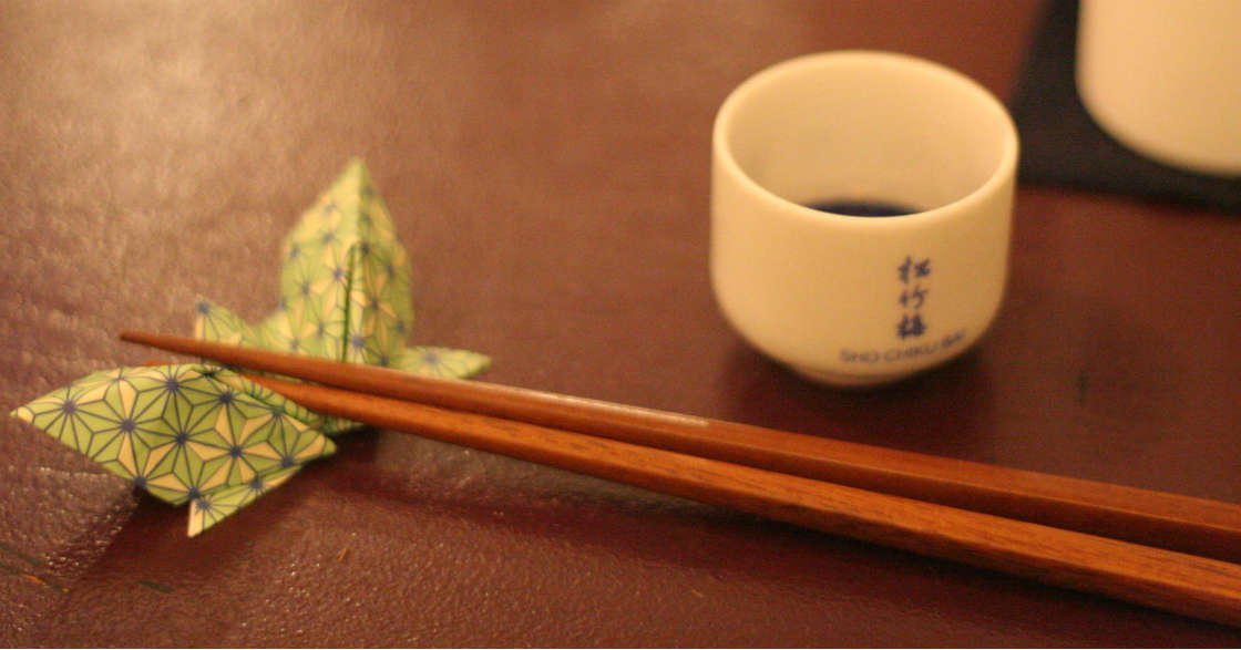 Essen mit Stäbchen leicht gemacht