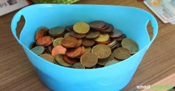 Mit dem Kleingeldkörbchen sparst du dir schnell etwas zusammen