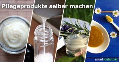 Viele Pflegeprodukte für Haut, Haar und Zähne sind teuer und beinhalten komplexe Chemie. Hier findest du einfache Rezepte für natürliche und gesunde Pflege!