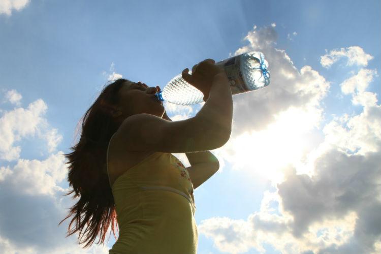 trinken vor dem Sport