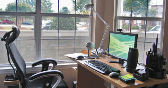 arbeiten von zu hause so schaffst du es produktiv zu sein. Black Bedroom Furniture Sets. Home Design Ideas