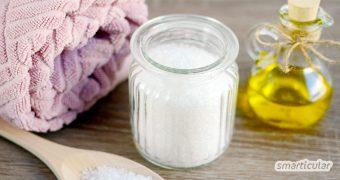 Peelings müssen nicht teuer sein. Wir zeigen dir, wie du mit natürlichen Zutaten ein sehr günstiges Peeling selbst herstellst.