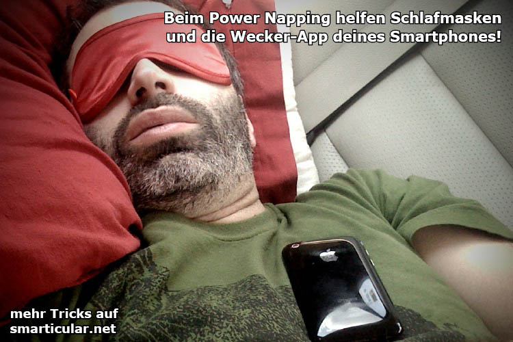 Power Napping - Wie holst du dir den Energiekick zwischendurch?