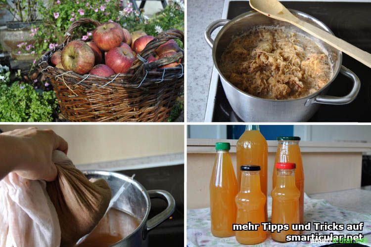 Berühmt Geht auch ohne Entsafter: Äpfel zu leckerem Saft einkochen @EV_92