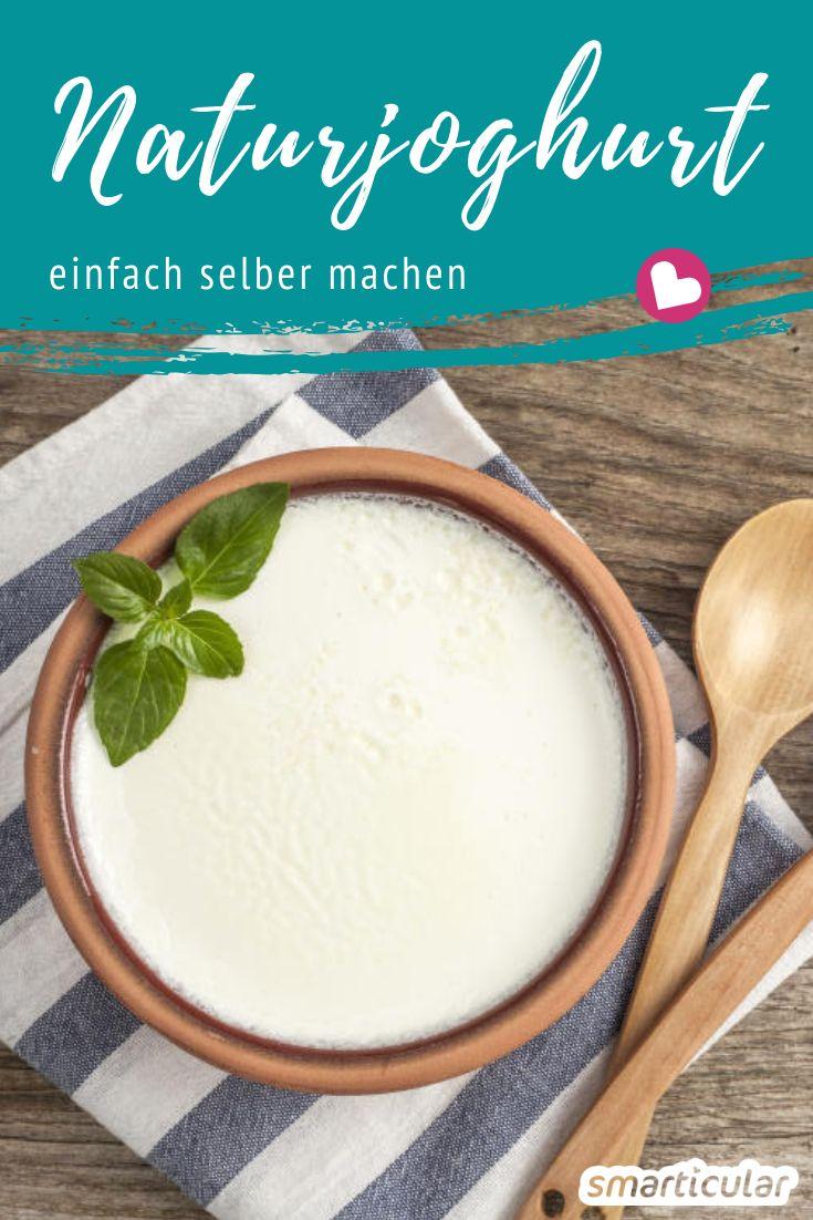 Naturjoghurt ist lecker und gesund. Ihn selber herzustellen ist erstaunlich einfach. Wir zeigen Schritt für Schritt wie du biologischen Joghurt herstellst