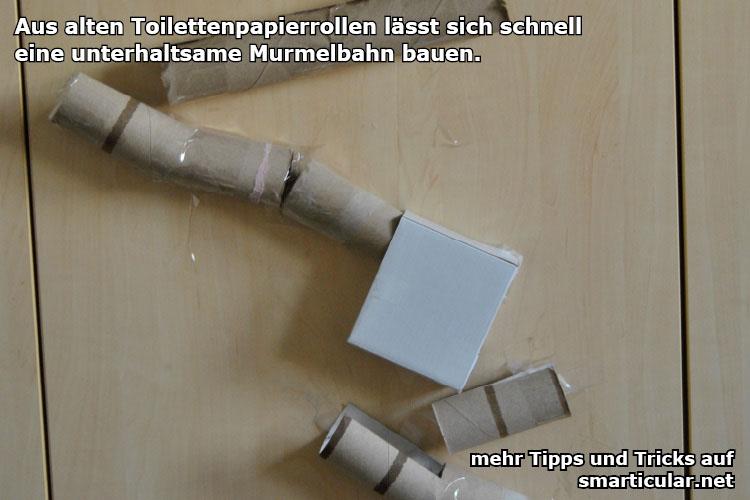 Murmelbahn Holz Selber Bauen ~ Lustige Murmelbahn aus Papprollen mit den Kids selber bauen 4 63 5 (8
