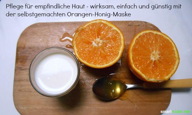 Verwöhne deine Haut mit selbst gemachter Orangencremepackung