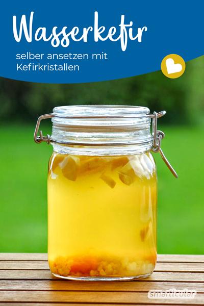 Wie sind deine Erfahrungen mit Wasser-Kefir? Hast du noch Tipps oder tolle Rezepte? Teile sie in den Kommentaren!