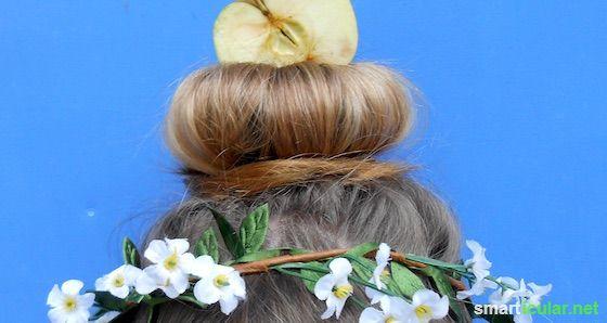 Haarpflege durch hausmittel