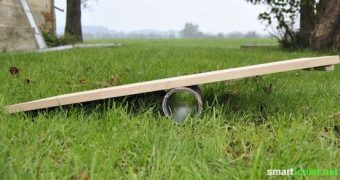 Dein Balanceboard zum Gleichgewichtstraining einfach selber bauen