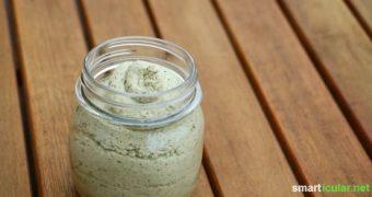 Grundrezept für veganen Brotaufstich - Sonnenblumenkerncreme