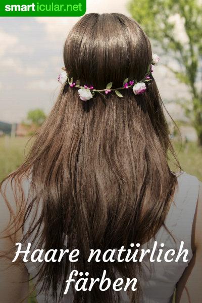 Ohne blondieren haare färben rote Braune Haare