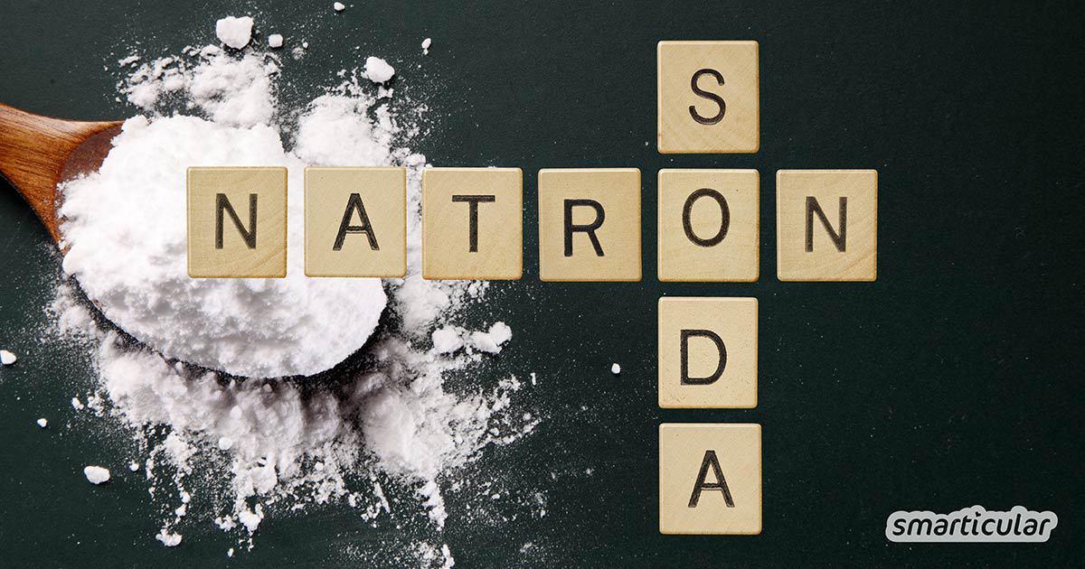 Natron und Soda sind zwei überaus nützliche Hausmittel, die oft miteinander verwechselt werden. Worin besteht der Unterschied? Wofür setzt man welches ein?