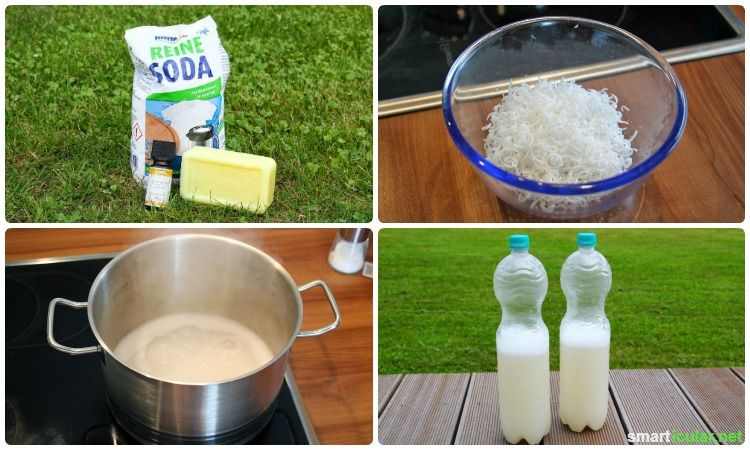 Homemade laundry detergent, easy, cheap and good for the environment