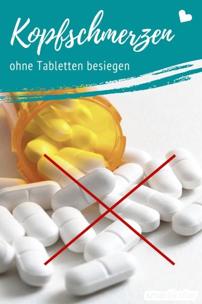Bevor du zur Tablette greifst, solltest du diese natürlichen Mittel gegen Kopfschmerzen probieren.