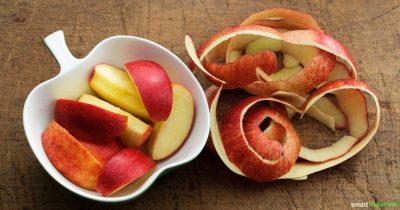 Apfelschalen enthalten viele Wertvolle Inhaltsstoffe, welche zu schade sind zum Wegwerfen. Wir zeigen dir einige Tricks zum Weiterverwerten von Apfelschalen