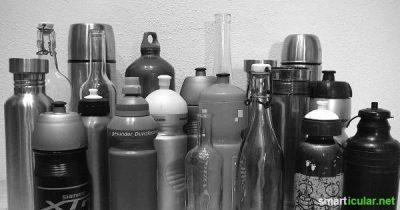 Flaschen und Vasen mit engem Hals gründlich reinigen muss nicht schwer sein. Ein kleiner, aber super effektiver Trick, mit dem du Flaschen richtig säuberst