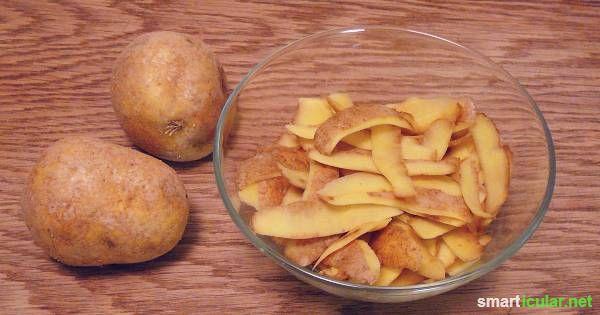 Kartoffelschalen fallen in den meisten Haushalten als Abfallprodukte an. Sie eignen sich super zur Reinigung von verschiedenen Oberflächen. Ganz ohne Chemie