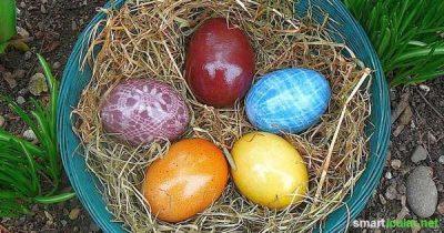 Intensiv leuchtende Ostereier natürlich färben? Mit diesen Lebensmitteln färbst du deine Ostereier wunderschön und strahlend bunt. Ohne Zusatzstoffe