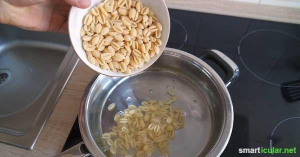 Nudeln mit einem trick energiesparend und viel schneller for Was kochen heute schnell
