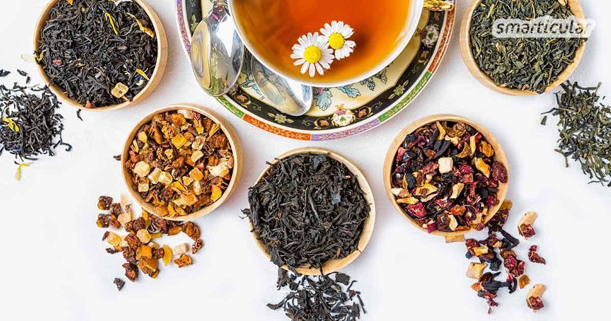 Tee entspannt und beruhigt, er kann aber noch viel mehr. Viele Gesundheitsprobleme lassen sich mit dem richtigen Tee behandeln. Welcher Tee hilft wobei?