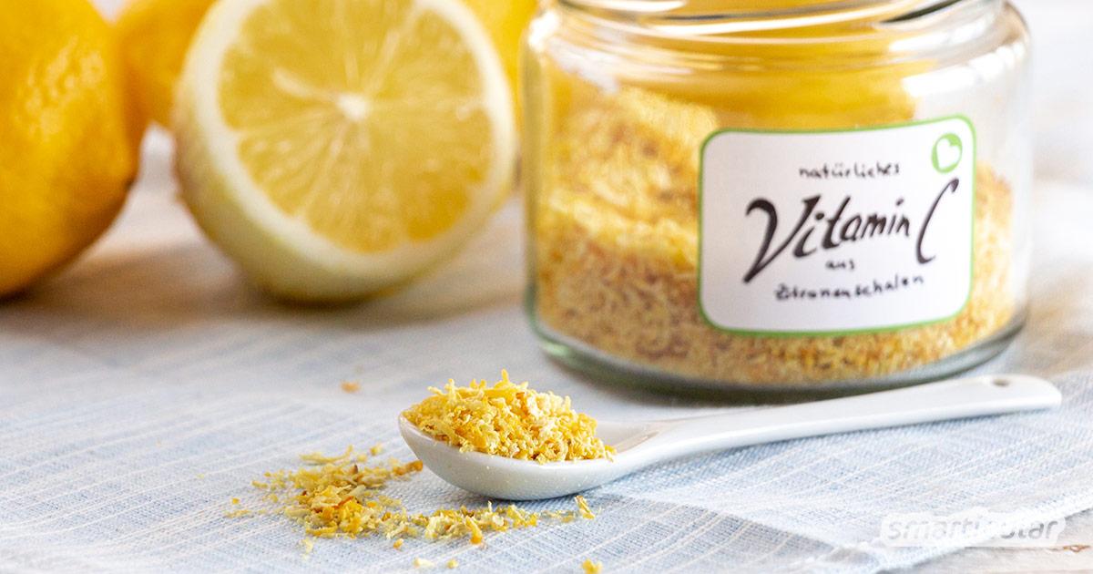 Vitamin-C-Pulver selber zu machen, ist gar nicht schwer. Anstelle von synthetisch hergestellter Ascorbinsäure benötigst du nur eine natürliche Zutat.