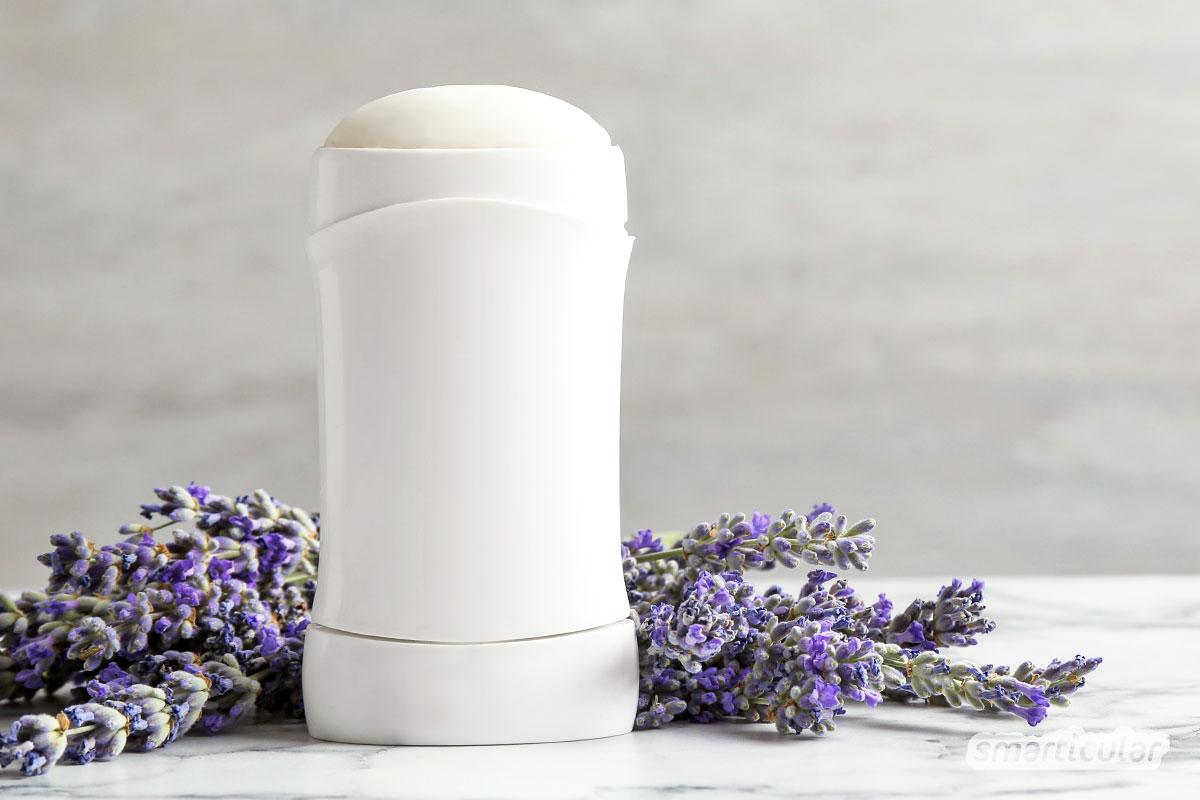 Deo selber machen statt kaufen: aus einfachen, preiswerten und natürlichen Zutaten kann jeder in wenigen Minuten wirksames Deodorant herstellen - ohne Aluminiumsalze.