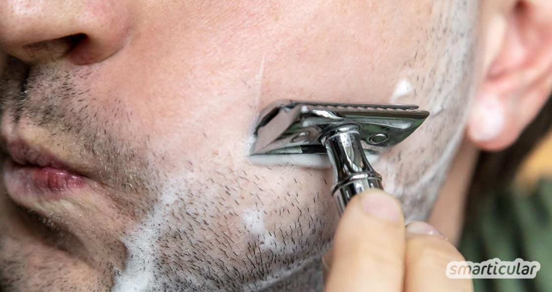 Diese Alternative zu herkömmlichen Rasierern spart über 90% der Kosten für Klingen. Die Rasur ist angenehmer, gründlicher und hat ein paar weitere Vorteile!