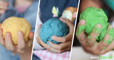 Suchst du noch nach einem spannenden Projekt für deine Kinder? Wie wäre es mit selbstgemachter Knete? Vollkommen natürlich, essbar und Spaß ist garantiert!