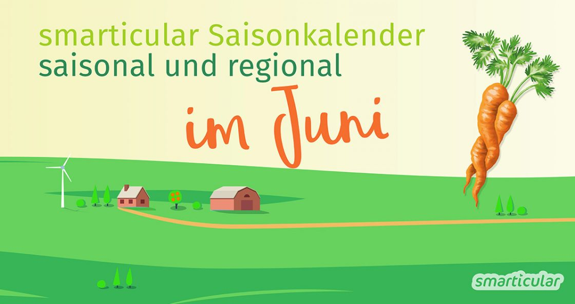 Dieses Obst und Gemüse wächst im Juni: Erdbeeren, Johannisbeeren, Kirschen, Bohnen, Erbsen, Blumenkohl und mehr kannst du im Juni regional einkaufen.