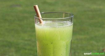 Gefühlte 35 Grad im Schatten? Du brauchst eine Erfrischung die schnell wirkt? Vergiss das Zuckerwasser. Dieser Drink erfrischt, spart Geld und ist gesund!