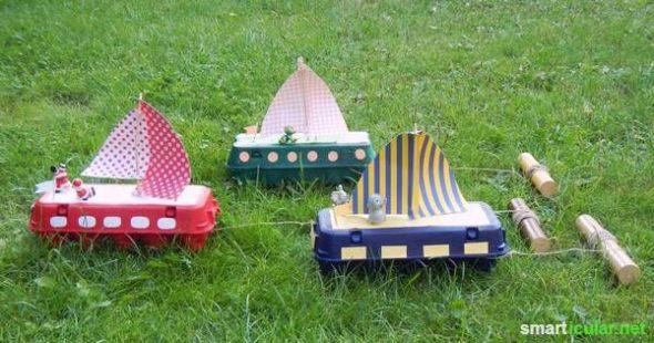 Ein lustiger Kindergeburtstag muss nicht teuer sein. Viele unterhaltsame und lehrreiche Spiele sind leicht und mit einfachen Materialien zu spielen!