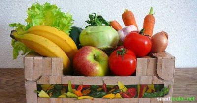Dein Obst und Gemüse geht im Kühlschrank schnell ein? Mit diesen Tipps lagerst du frische, empfindliche Einkäufe richtig und hast länger etwas davon!