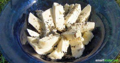 Leckeren und gesunden Panir (auch Paneer Käse) in wenigen Schritten preiswert selbst herstellen. So kochst du indische Gerichte ganz einfach zu Hause!